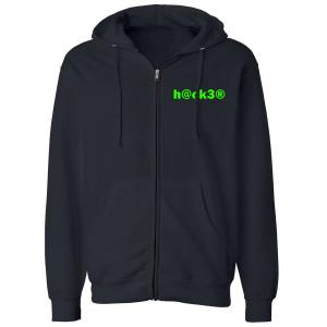 Big Brother Hacker Zip Up Hoodie (Navy)