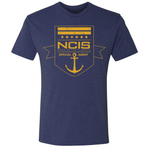 NCIS Special Agent Badge T-Shirt (Gold)