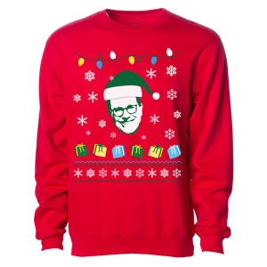 The Late Show With Stephen Colbert Holiday Crewneck Sweatshirt