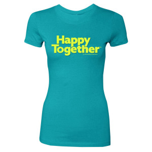 Happy Together Women's Logo T-Shirt (Tahiti Blue)