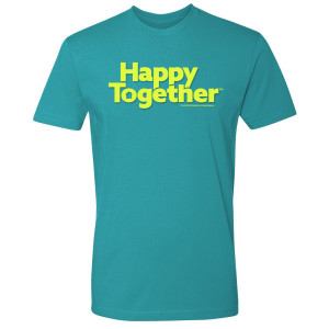 Happy Together Logo T-Shirt (Tahiti Blue)