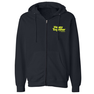 Happy Together Logo Zip Up Hoodie