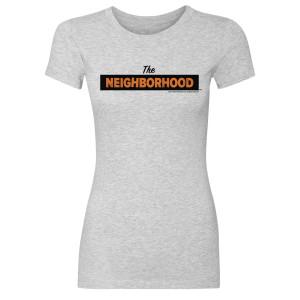 The Neighborhood Logo Women's T-Shirt (Heather Grey)