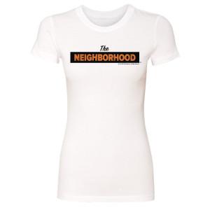 The Neighborhood Women's Logo T-Shirt (White)