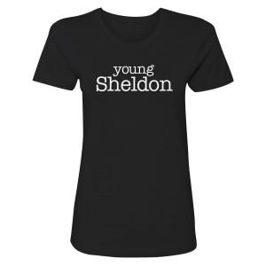 Young Sheldon Logo Women's T-Shirt