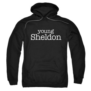Young Sheldon Logo Pullover Hoodie