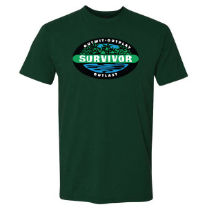 Survivor Outwit, Outplay, Outlast T-Shirt (Forest Green)