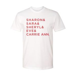 The Talk Name T-Shirt (White)