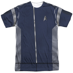 Star Trek Discovery Science Uniform Costume T-Shirt