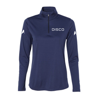 Star Trek Discovery Disco Women's Quarter-Zip Lightweight Pullover