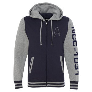Star Trek Discovery Varsity Zip Hoodie