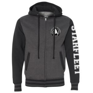 Star Trek Starfleet Academy Varsity Zip Hoodie