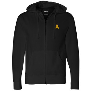 Star Trek Discovery Property Of Enterprise Zip Up Hoodie