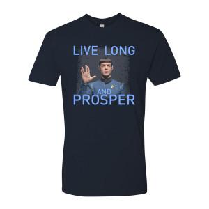 Star Trek Discovery Spock Live Long & Prosper T-Shirt