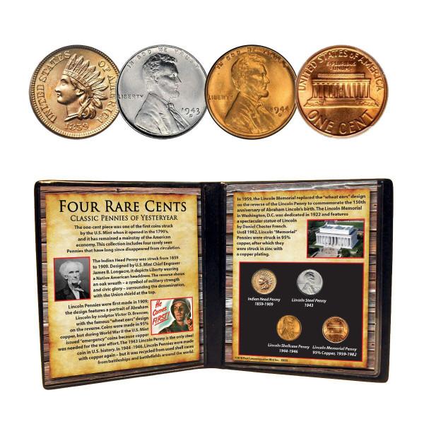 Four Rare Cents Close