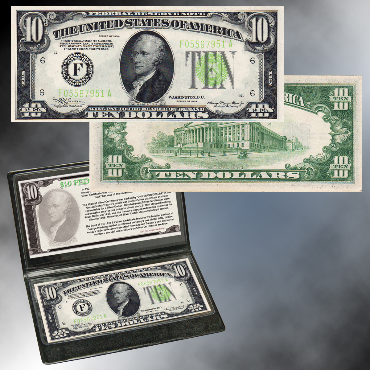 $10 Federal Reserve Note (1934 or Earlier)