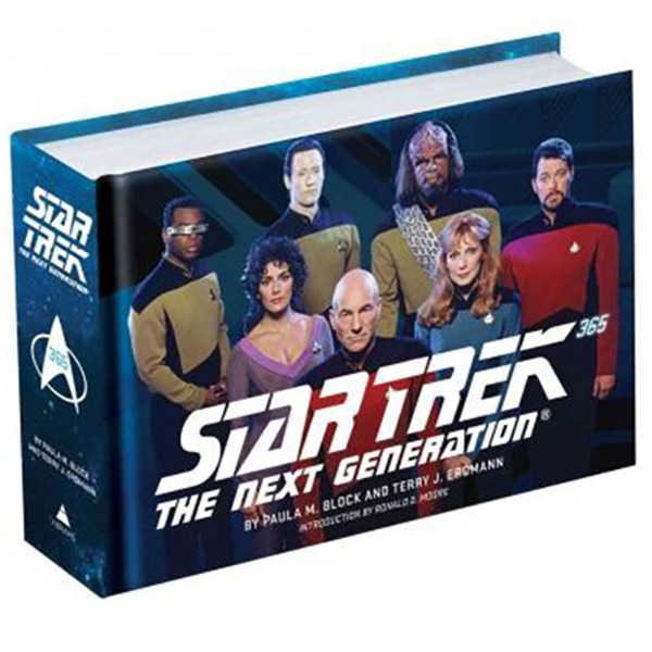 Star Trek 365: The Next Generation (Hardcover) Book