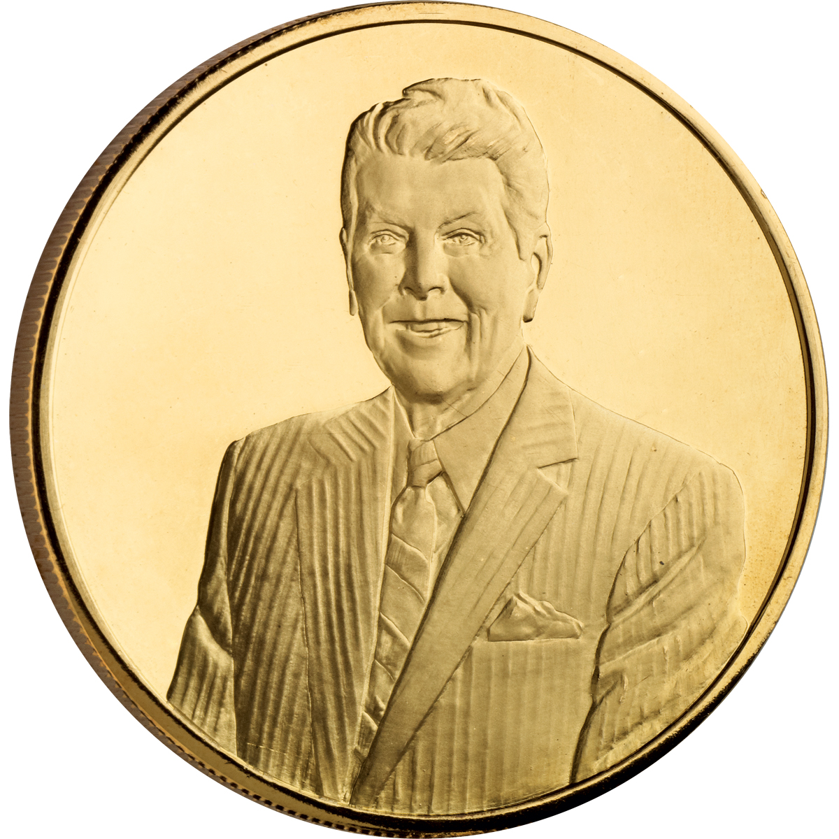 PORTRAIT MEDAL - RONALD REAGAN CENTENNIAL COMMEMORATIVE MEDAL