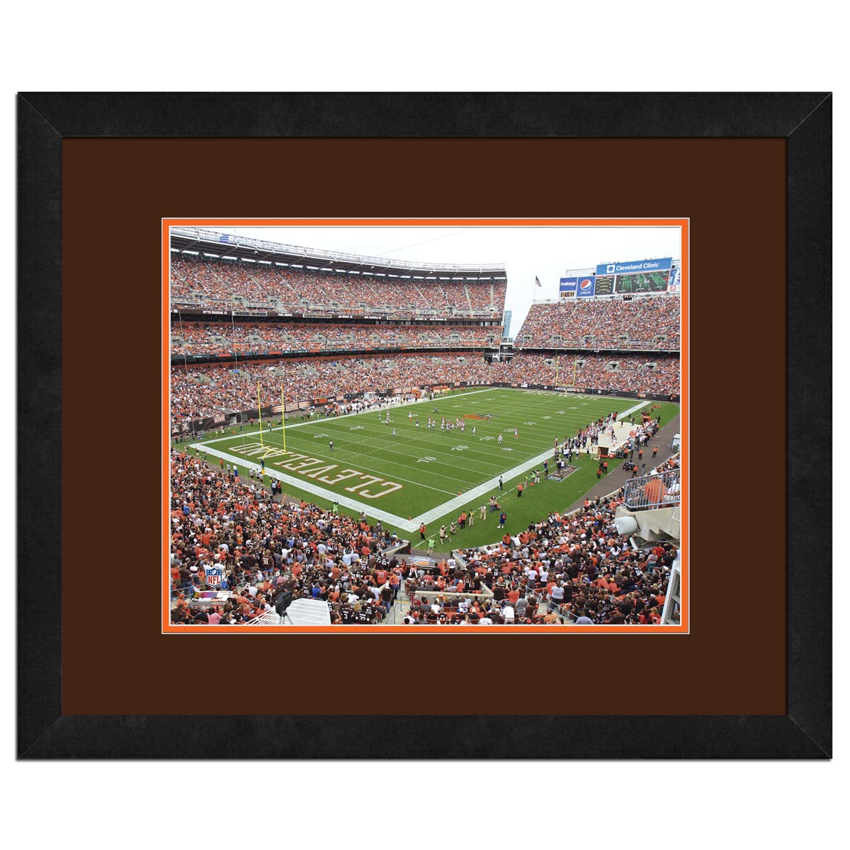 Cleveland Browns Stadium Browns High Resolution framed photography