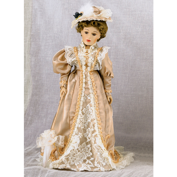 Suzette Doll with Stand