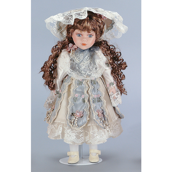 Anna Child Doll with Stand