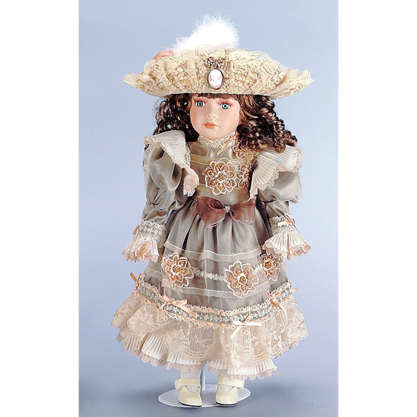 Ashley Child Doll with Stand