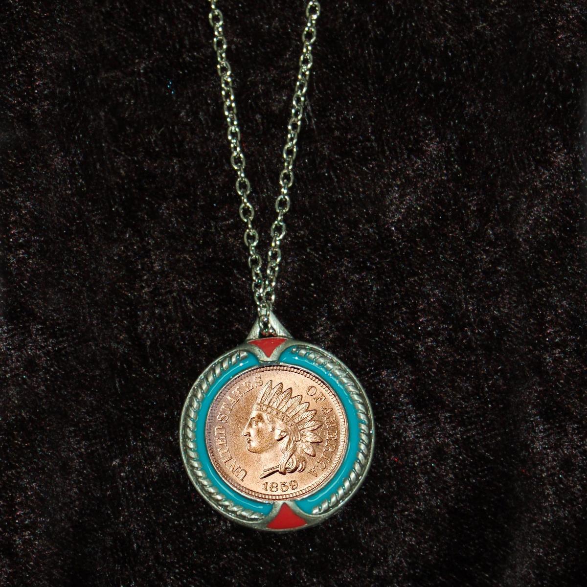 Indian Head Penny Pendant