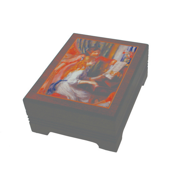 Renoir Girls at Piano Jewelry Box