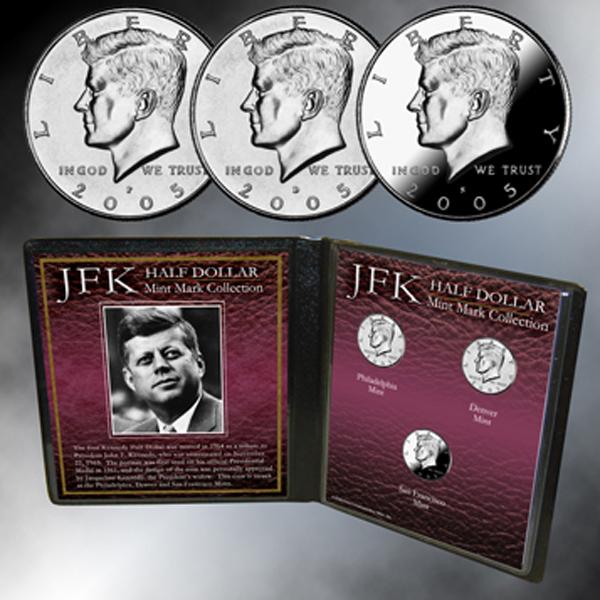 JFK Mint Mark Collection