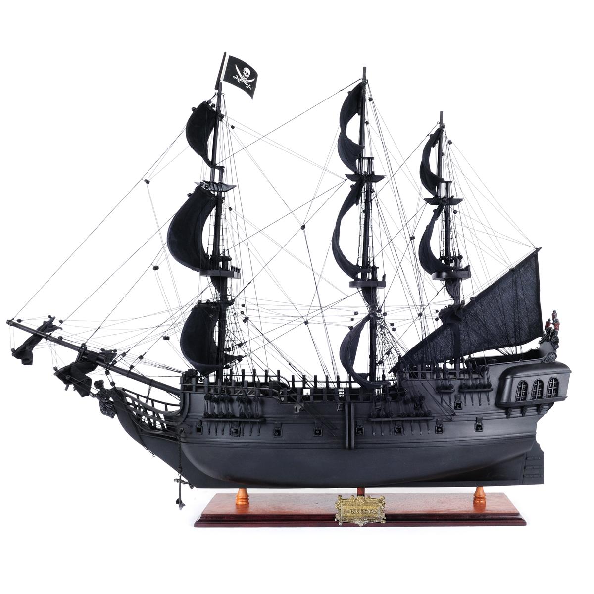 Black Pearl Pirate Ship Medium