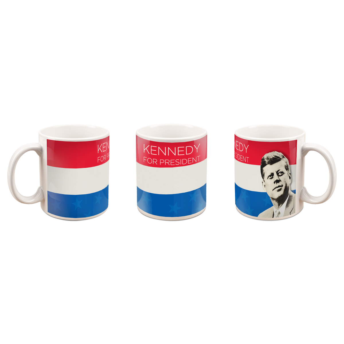 Franklin Mint Kennedy For President Mug