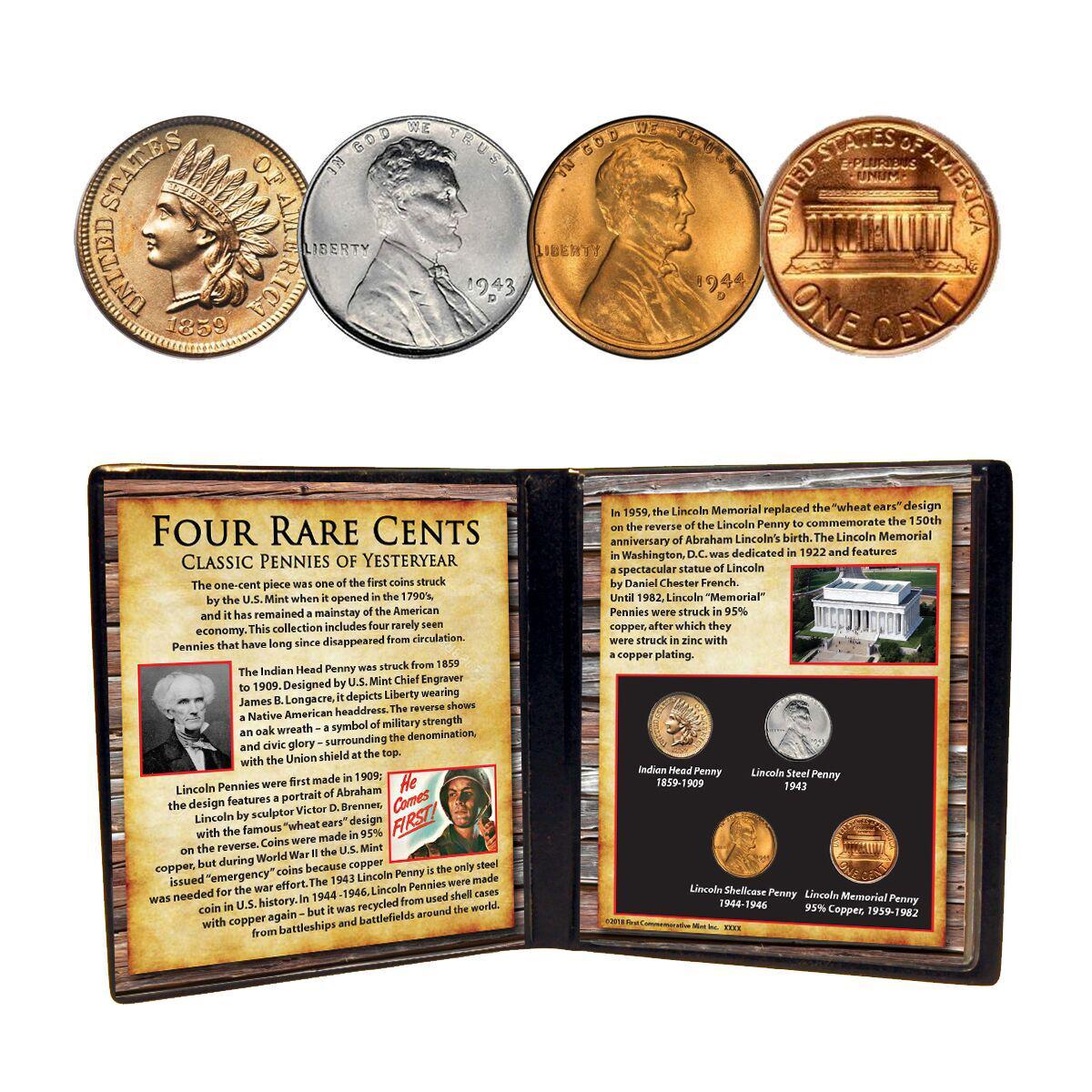 Four Rare Cents