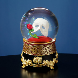 Classic Mask w/Rose Water Globe