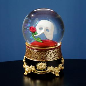 Classic Mask w/Rose Water Globe