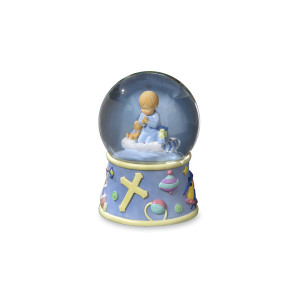 Bedtime Prayers Boy Water Globe