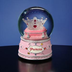 Princess Crown Water Globe