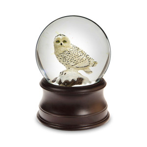 Snow Owl Water Globe