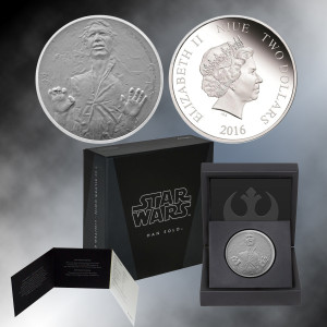 2016 1oz. Silver Star Wars Han Solo