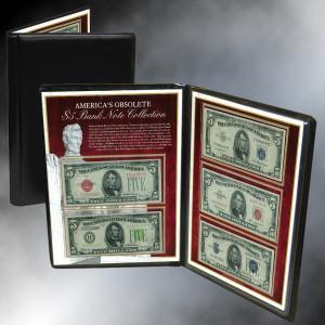 1928-1963 Set of 5 $5 Bank Notes