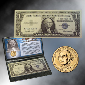 Washington Coin & Currency Set