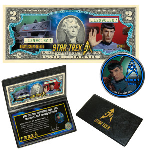 "Star Trek Coin & Currency Set - ""Spock"""