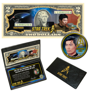 "Star Trek Coin & Currency Set - ""Sulu"""