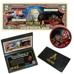 "Star Trek Coin & Currency Set - ""Uhura"""