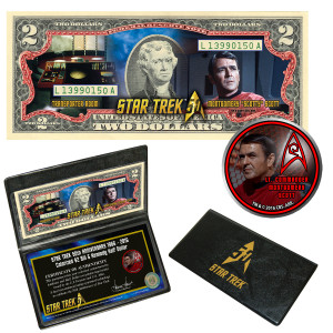 "Star Trek Coin & Currency Set - ""Scotty"""