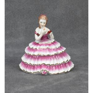 Pink Lady Powder Box
