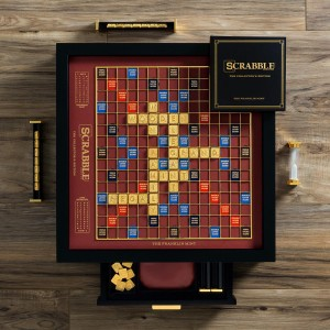 Scrabble  Franklin Mint Limited Edition