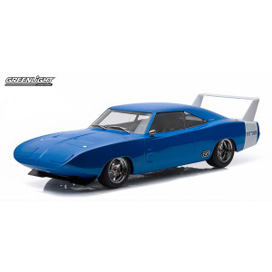 1969 Dodge Charger Daytona Custom - Blue with White Rear Wing