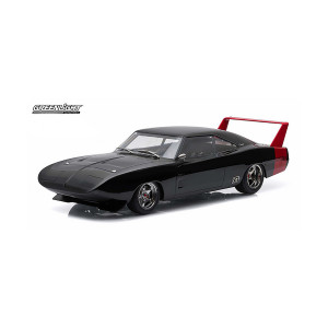 1969 Dodge Charger Daytona Custom - Black with Red Rear Wing
