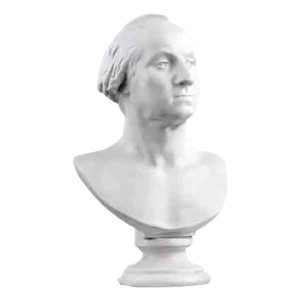 George Washington Bust - White