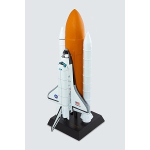 Space Shuttle Atlantis Full Stack Model - 1/100 scale